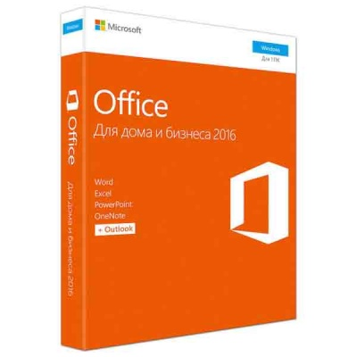 Программа MS Office Mac Home Business 1PK 2016 Russian Box