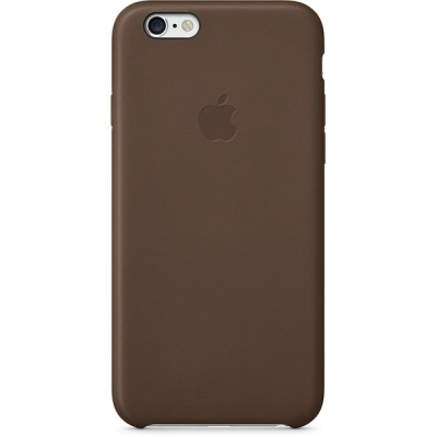Чехол iPhone 6 Plus Leather Case Olive Brown MGQR2ZM/A |