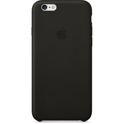 Чехол iPhone 6 Plus Leather Case Black MGQX2ZM/A |