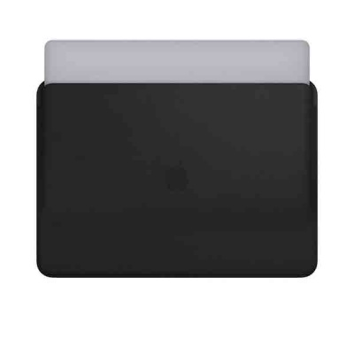 Чехол Leather Sleeve for 15-inch MacBook Pro – Black MTEJ2ZM/A |