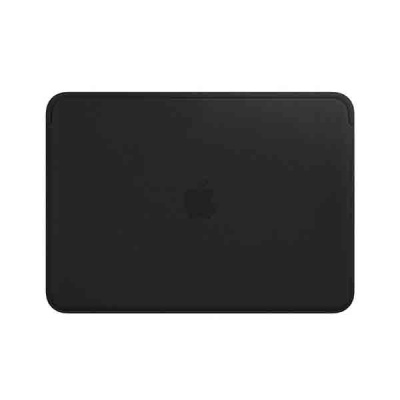 Чехол Leather Sleeve for 12-inch MacBook - Black
