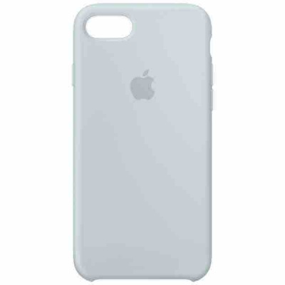 Чехол iPhone 7 Silicone Case - Mist Blue MQ582ZM/A |