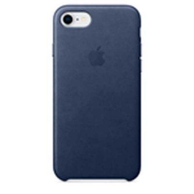 Чехол iPhone 8 / 7 Leather Case - Midnight Blue MQH82ZM/A |
