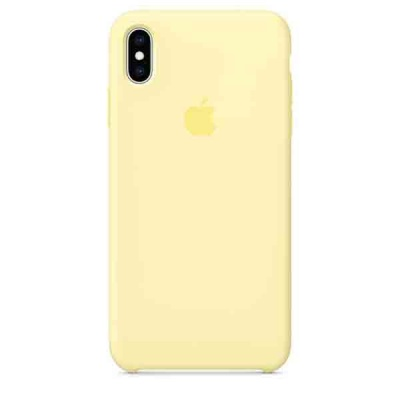Чехол iPhone XS Max Silicone Case - Mellow Yellow MUJR2ZM/A |