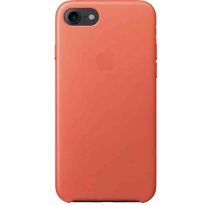Чехол iPhone 7 Leather Case - Geranium MQ5F2ZM/A |